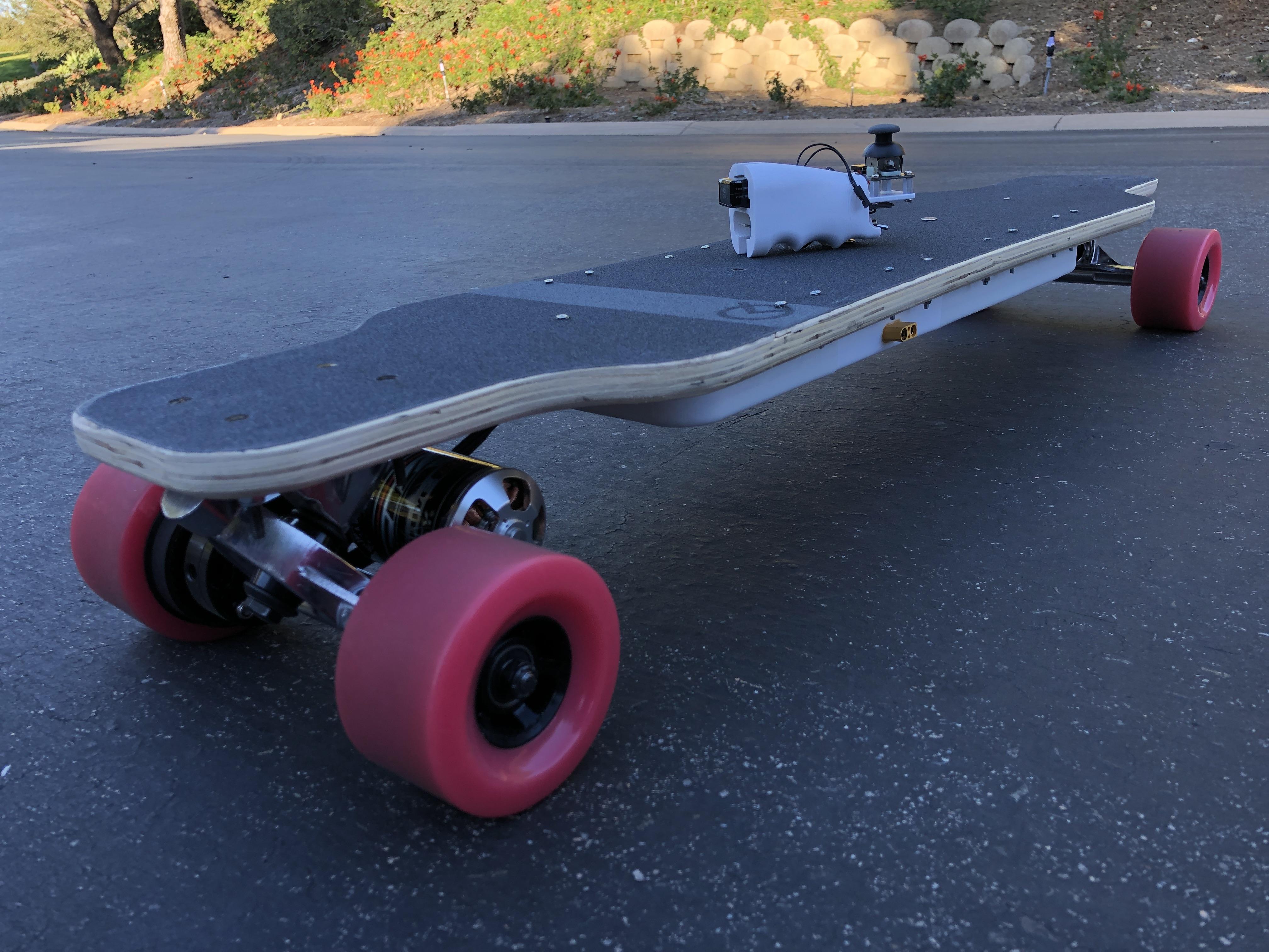 Custom Electric Longboard